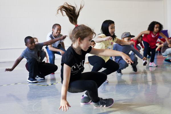Workshop Kidsdance  Leuven.